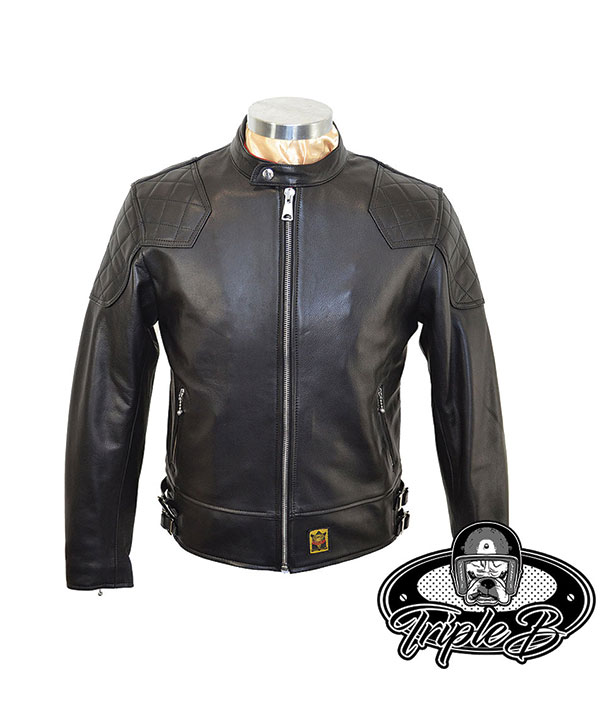 Goldtop 76 Cafe Racer Brown